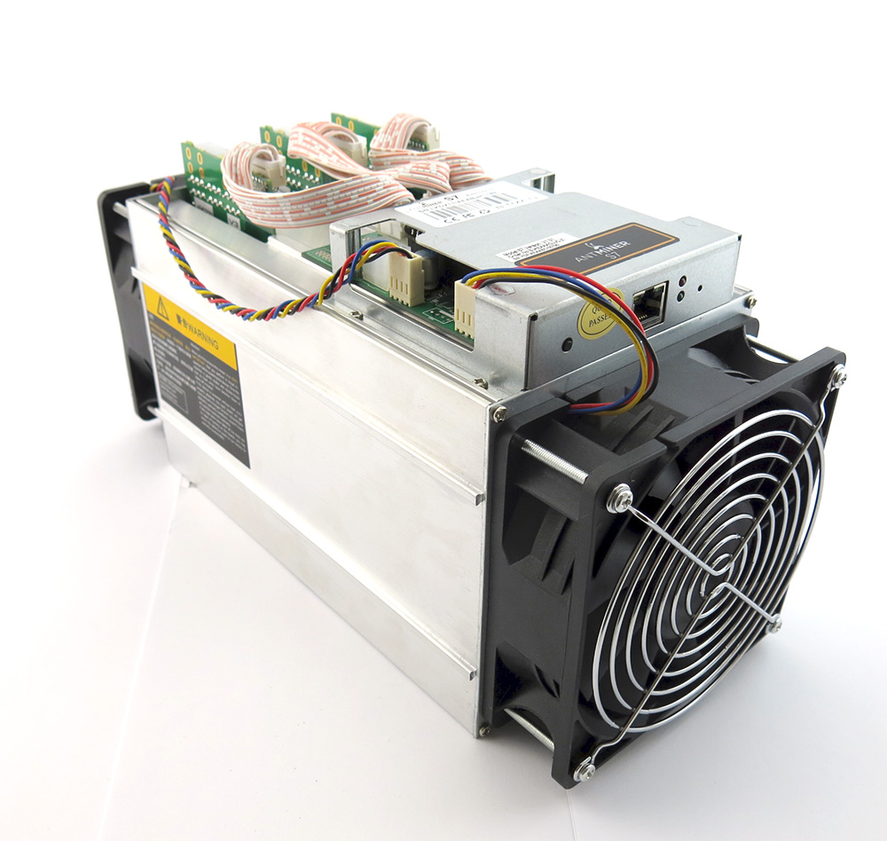 Tested at 700Mhz Antminer S7 ~4.5TH/s @ .29W/GH 28nm ASIC