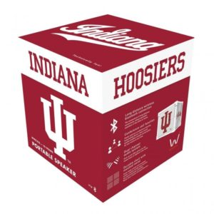 KUBE Bluetooth Speaker, Indiana Hoosiers