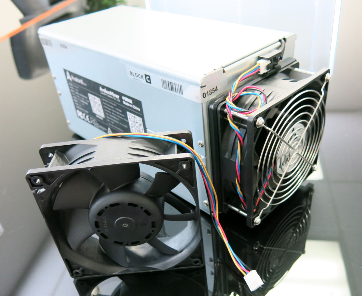 Avalon 741 Fan Replacement Delta DX-62 4500 RPM 191 CFM 55 DBA 12V 120mm x 38mm