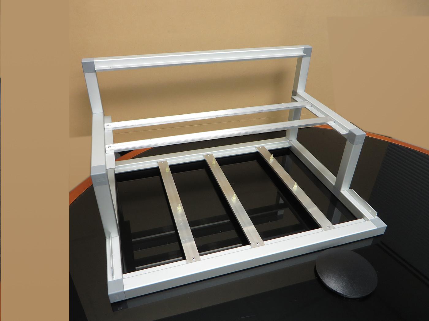 Barebone All Aluminium 6 1 Gpu Open Air Mining Case