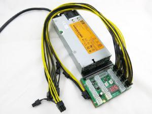 750W Mining Rig Power Supply Kit