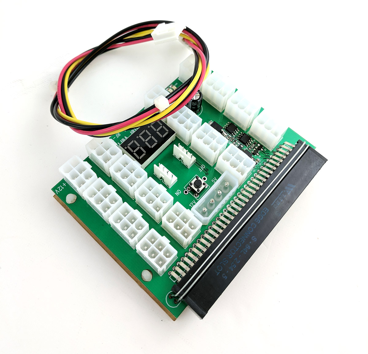 X11 breakout board with an interconnect sync cable
