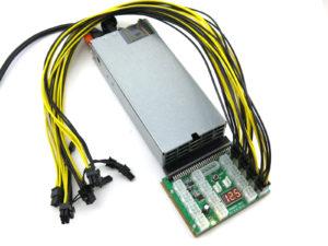 KT-1100BLACK Mining Rig Power Supply Kit