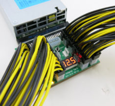 Breakout board and PCIe cable kit for all your mining power supply needs.