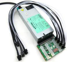 KT-11006SET03-X6B Mining Rig Power Supply Kit, DragonMint B29