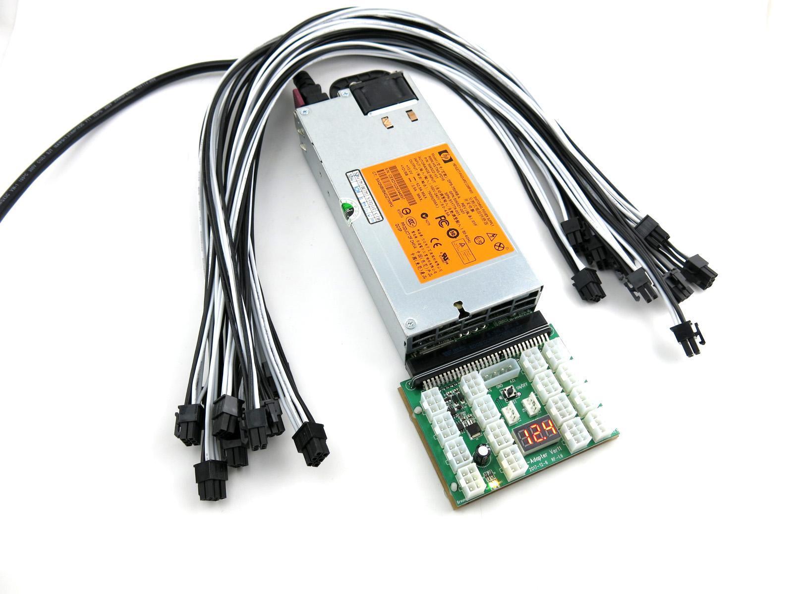 KT-75010SET03-BKX11-Antminer X3 power supply kit