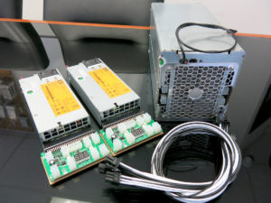 Avalon6 Miner with power supply