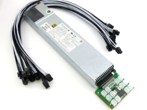 SuperMicro 800W ASIC Miner Power Supply Kit