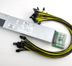 800W GPU rig mining power supply kit