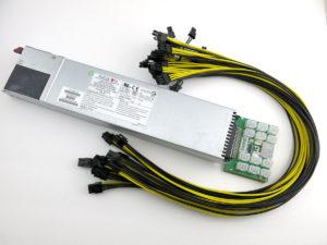 SuperMicro 800W GPU Mining Rig Power Supply Kit