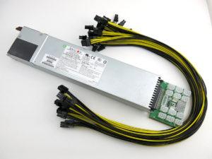 SuperMicro 900W GPU Mining Rig Power Supply Kit
