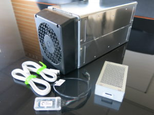 Complete Avalon 741 ASIC miner kit with server power supply