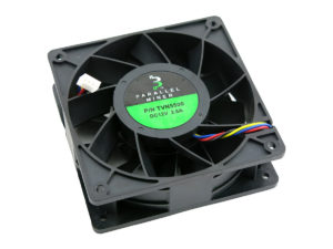 Fan upgrade for Avalon 6 and other ASIC miners.
