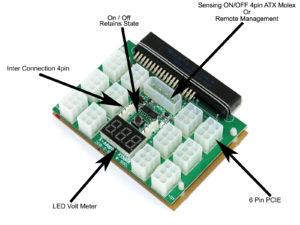 PowerEdge Power Supply Breakout Board