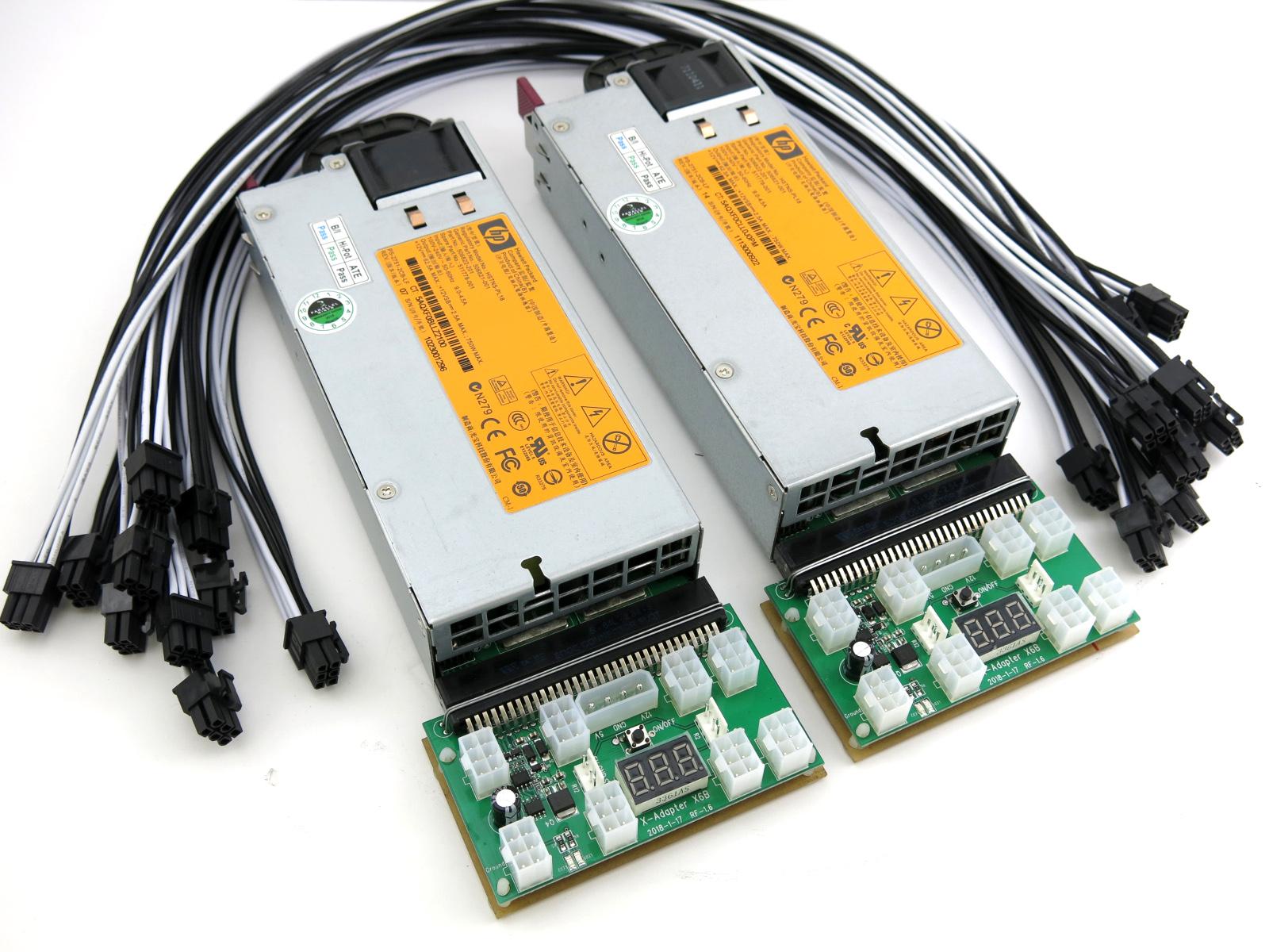 Baikal Miner BK-G28 Power Supply 1500 Watt 110-240V ASIC Miner PSU 80+ Gold  92% Efficiency
