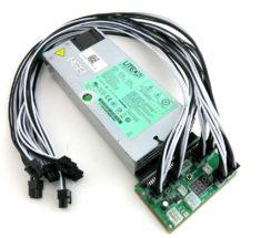 Obelisk SC1 Slim and SC1 Dual Power Supply 1100 Watt 110-240V ASIC Miner PSU 80+ Gold 92% Efficiency