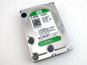 Western Digital Green WD20EZRX 2 TB Hard Drive Disk