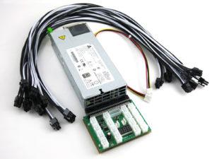 Bitmaint Antminer S9 SE 1400w Power Supply Kit 200-240v Platinum Rated