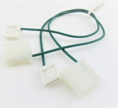 Dual fault protection kit comes with (2) cables bundled together.