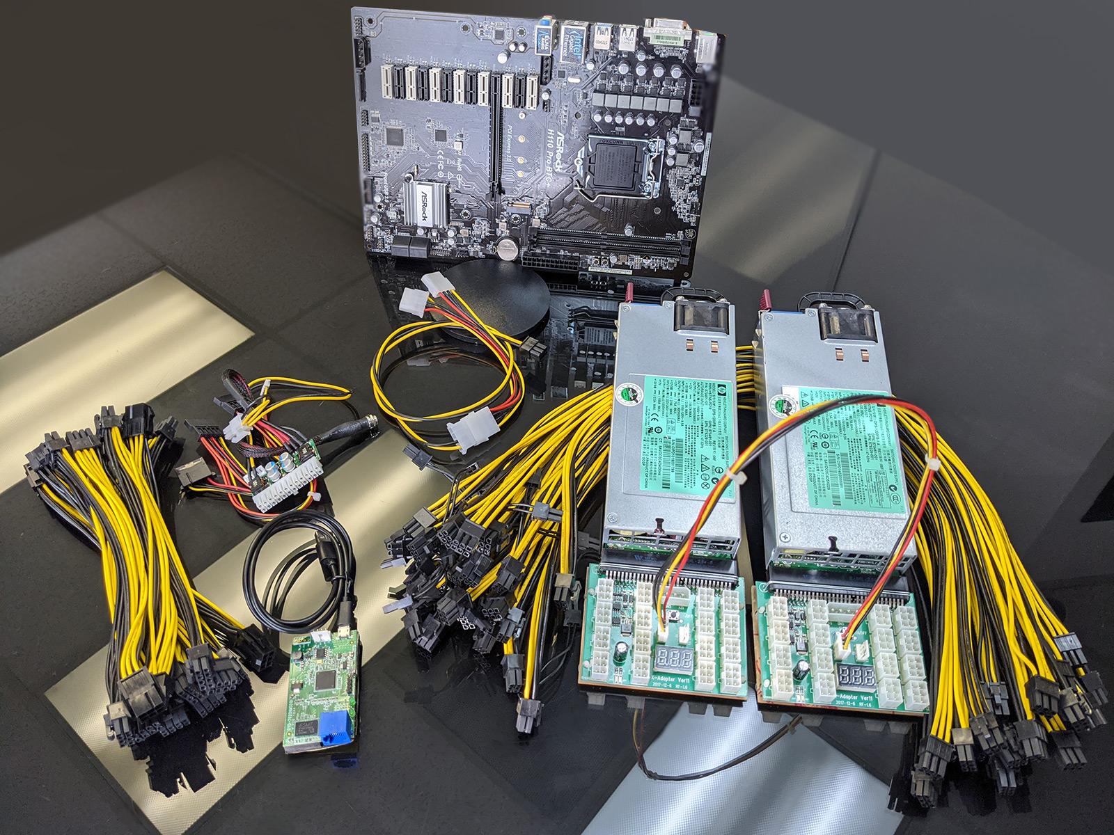 ASRock BTC PRO Kit, BTC Mining PCIe x1 to x16 Riser Card